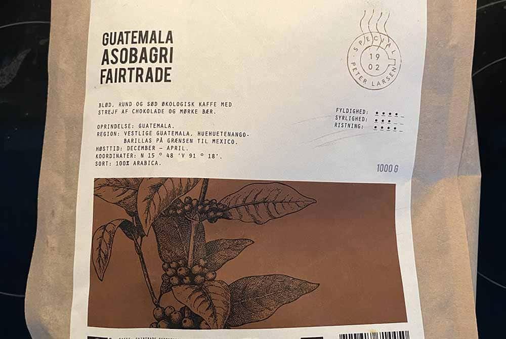 Guatemala Asobagri Fairtrade fra Peter Larsen Kaffe